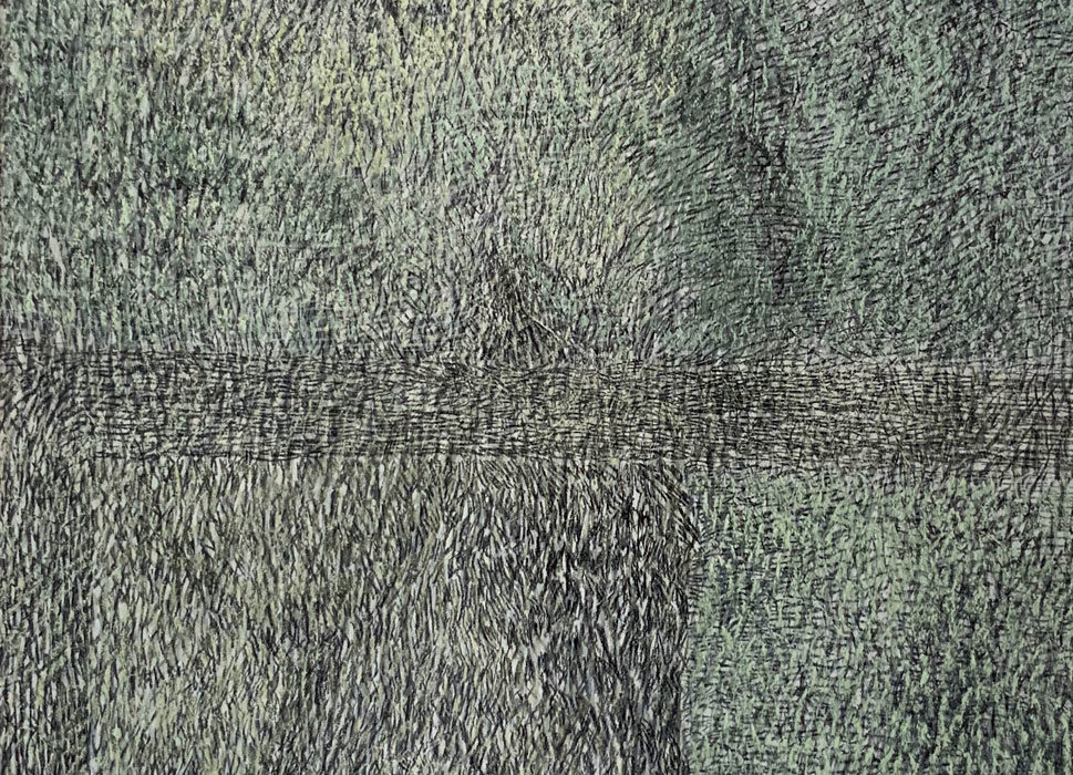 'Crow''. Conte and pastel on board. 2011