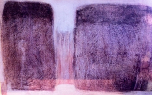 Untitled. Mixed media on board. 1999